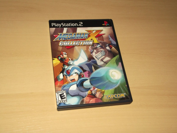 Ps2 - Mega Man X Collection