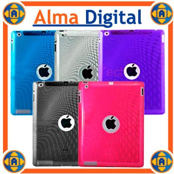 Forro Acrigel Apple iPad 2 3 4 Estuche Goma Manguera