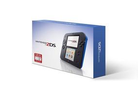 Novo Console Portatil Nintendo 2ds Azul Com Mario Kart 7