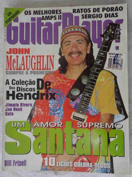Guitar Player Brasil No. 5 Maio 1996 Santana