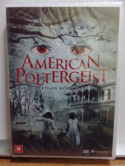 Dvd American Poltergeist Não Desperte Os Mortos Novo Lacrado