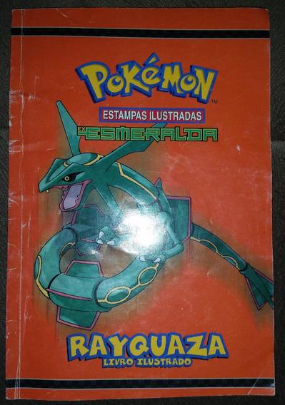 Pokémon Estampas Ilustradas Esmeralda Rayquaza 2008