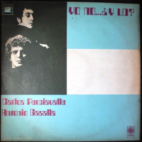 Gasalla/perciavalle - Yo No..y Vo? (1971) Vinilo Nac Ex Trov