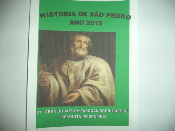 Pacote De 3 Livros De História De Santos