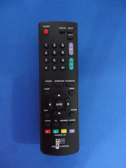 Controle Remoto Tv Lcd Led Sharp Aquos Lc-32r24b Lc-42r24b