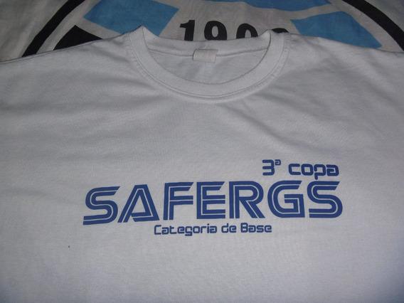 Camiseta De Árbitro 3ª Copa Safergs De Futebol Em Pelotas