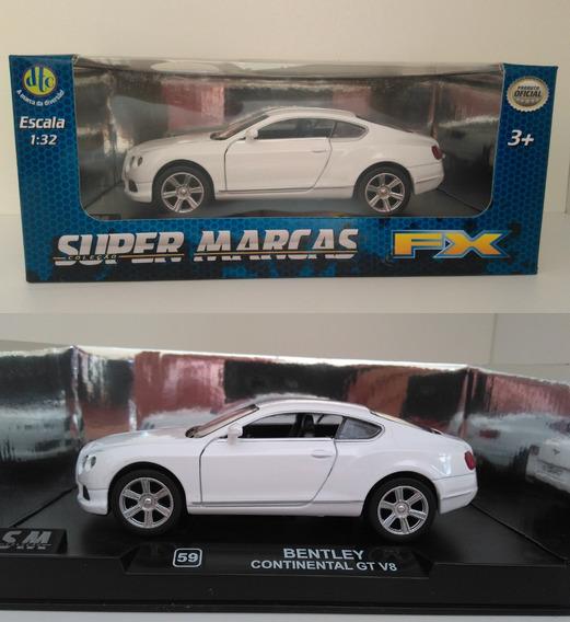 Super Marcas Fx Dtc - Bentley Continental Gt V8 -escala 1/32