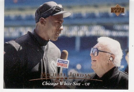 1995 Upper Deck Michael Jordan White Sox Baseball