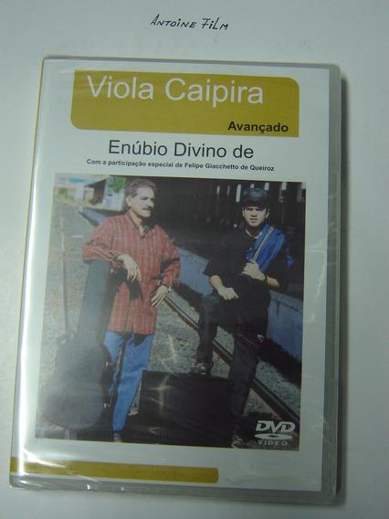 Viola Caipira Dvd Aula Avançado - Enúbio Divino