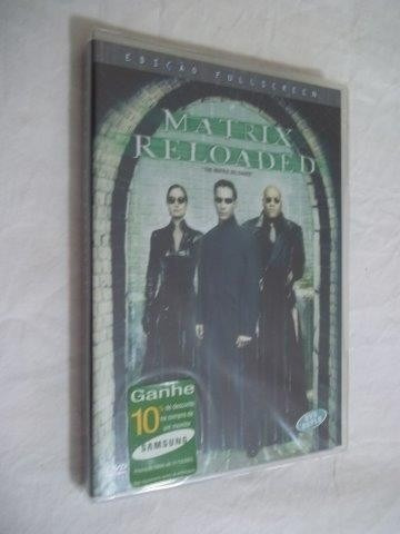 * Dvd - Matrix Reloaded