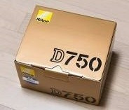Câmera Digital Nikon D-750 ( Kit Grip Tripé 32gb Bolsa )