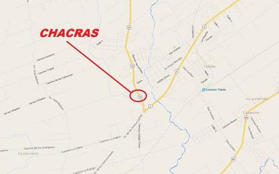 Casa Central - 2 Chacras En Toledo De 5 Y 6 Hás, Ruta 33 !!!