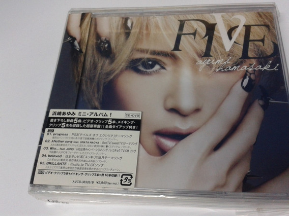 Cd Ayumi Hamasaki Five Original Japon