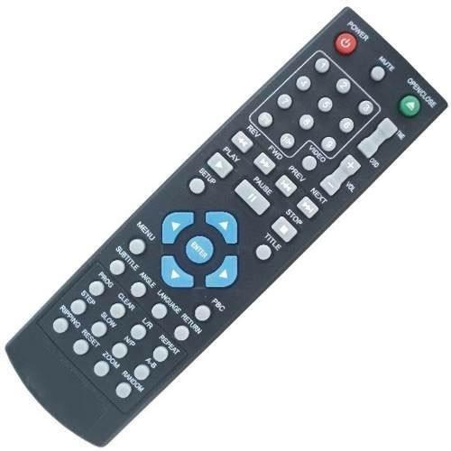 Controle Remoto Dvd Tectoy C101 F250 F251.