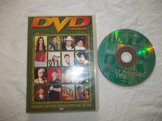 * Dvd - Dvd Músic Vol.1 - Coletânea