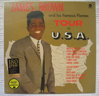 James Brown - Tour The U.s.a.+ 2 Bonus Tracks (waxtime 77203