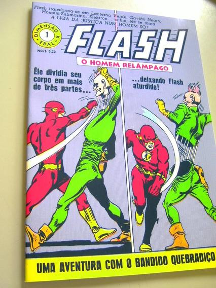 Flash - O Homem-relâmpago - 1 (dimensão K - Fac-símile)