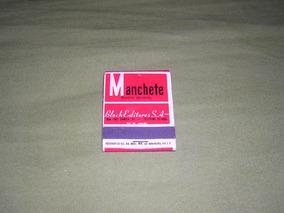 Caixa De Fósforos Antiga Revista Manchete