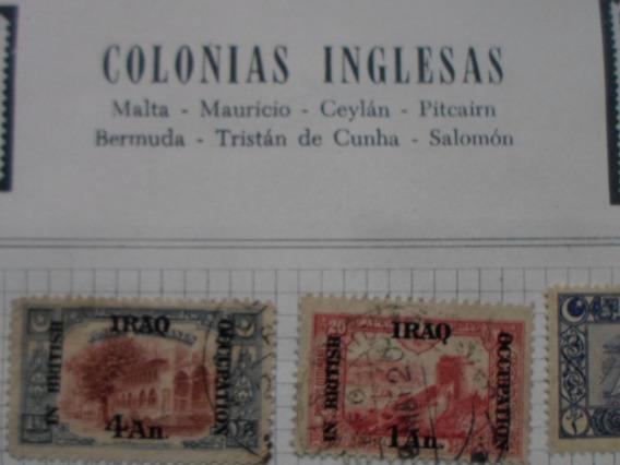 Estampillas De Colonias Inglesas Algunas Muy Antiguas