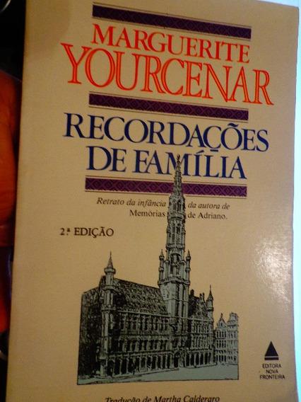 Marguerite Youcenar Recordações De Família Memórias Seminovo