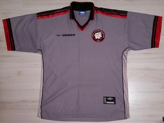 Rara Camisa 3 Do Atlético Paranaense Pr 2000 Umbro Cinza