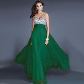 2733fabb9 Alquiler De Vestidos Noche - Vestidos de Mujer Graduación Largo ...