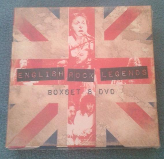 English Rock Legends Box Set 8 Dvd Varios Edicion Nacional