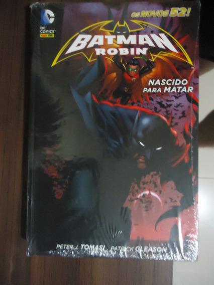 Batman E Robin - Nascido Para Matar - Panini