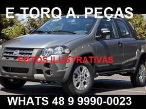 Sucata Fiat Strada 1.8 E-torq Cd Adventure Loker 2012 Flex