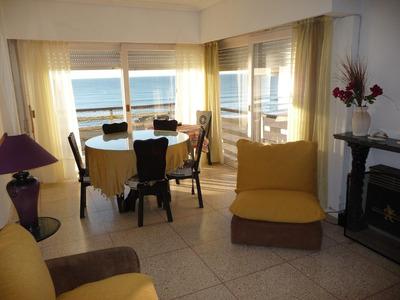 Miramar - Departamento Frente Al Mar 3 Dorm 3 Baños