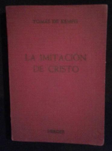 La Imitacion De Cristo Tomas De Kempis