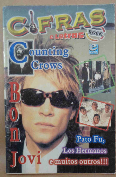 Cifras E Letras Rock Bon Jovi Counting Crows Pato Fu Hermano