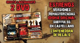 Guerra Coleccion 13 Dvd 100 Aniversario Peliculas Nuevas