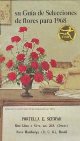 Catálogo De Flores Impresso Nos Eua - 1967 - Z