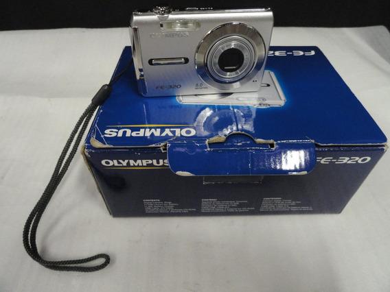 Câmera Fotográfica Olympus Fe-320 - 8mp - Com Defeito