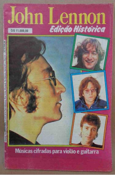Cifras E Letras John Lennon Edição Histórica