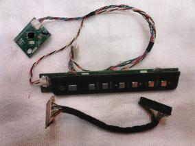 Kit Placa Sensor + Teclado + Cabo Flat Tv Lcd Aoc L22w