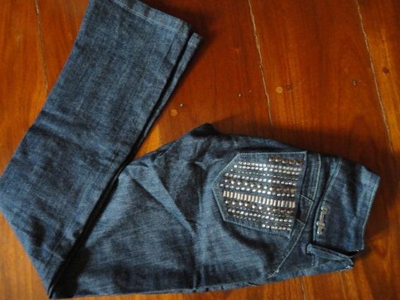 Calça Jeans Planet Girls Original 38 Escura