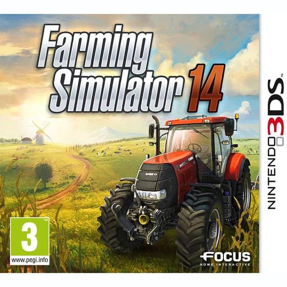 Jogo Novo Lacrado Farming Simulator 14 Para Nintendo 3ds