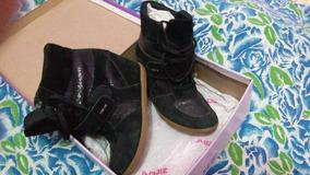 Sneakers Preto N.36 Em Excelente Estado De Conservação