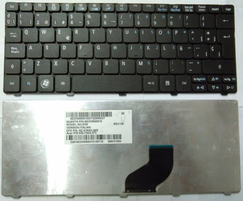 Teclado Acer Gateway Lt25 Lt27 Lt28 Lt32 Lt40 Lt41 Español