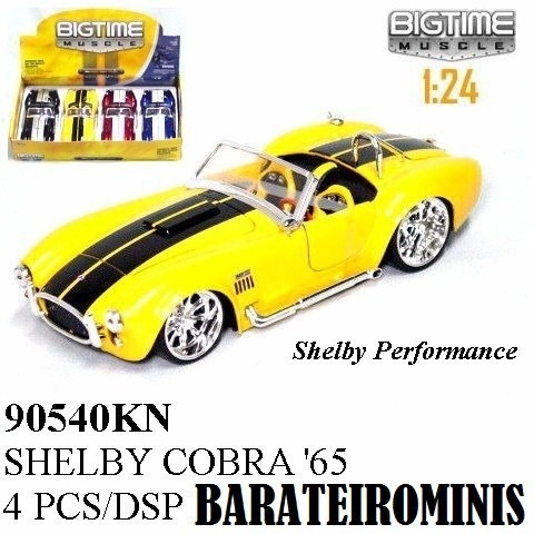1:24 Jada Shelby Cobra 1965 - Bigtime Muscle Barateirominis