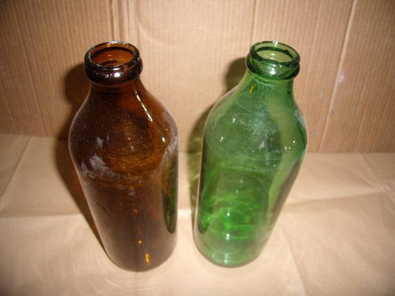 Antiguas Botellas De Aeite, Deco O Coleccion