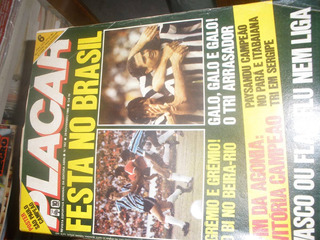 Revista Placar Antiga