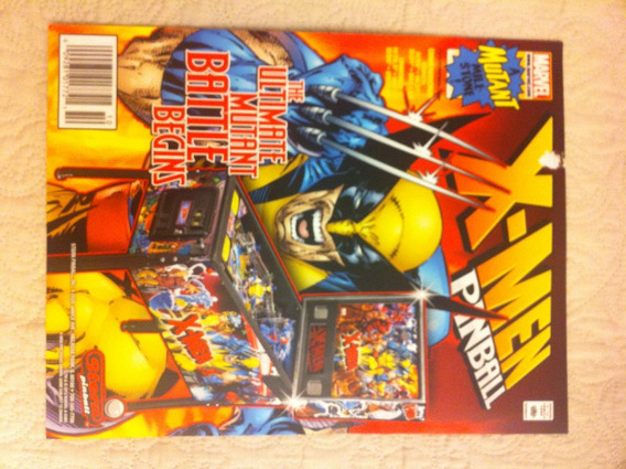 Flyer Pinball Stern X-men (finotti)
