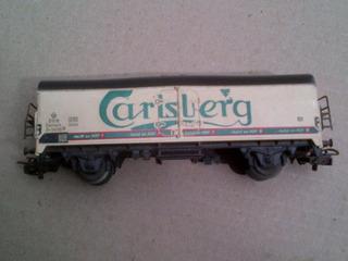 Vagon Wagon Tren Escala Trenes Marklin Carlsberg Raro