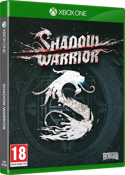 Jogo Samurai Novo Lacrado Shadow Warrior Para Xbox One