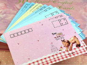 Frete Gratis - 10 Envelopes Colecao Papel De Carta