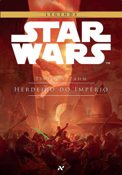 Livro Star Wars O Herdeiro Do Império