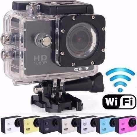 Câmera Filmadora P/dágua Wifi Full Hd Sport Cartão 32gb